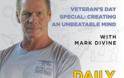 Ep. 180: Veteran's Day Special: Creating an Unbeatable Mind | with Mark Divine
